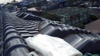 リフォーム前の屋根